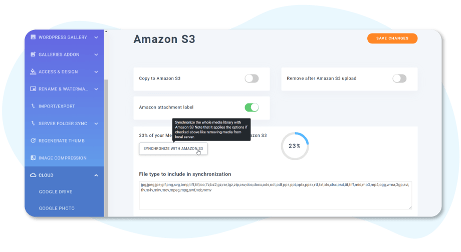 Amazon-S3-Integration-konfiguration