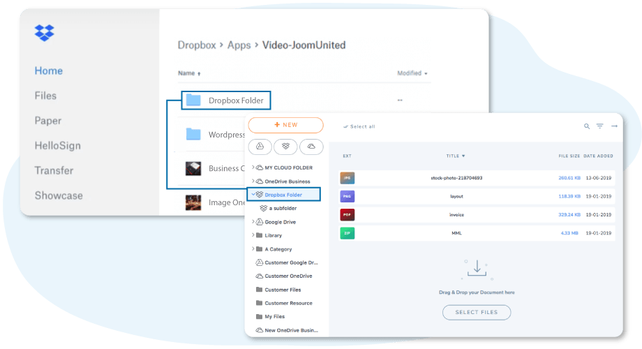Synkronisera Dropbox-filer och -mappar till WordPress
