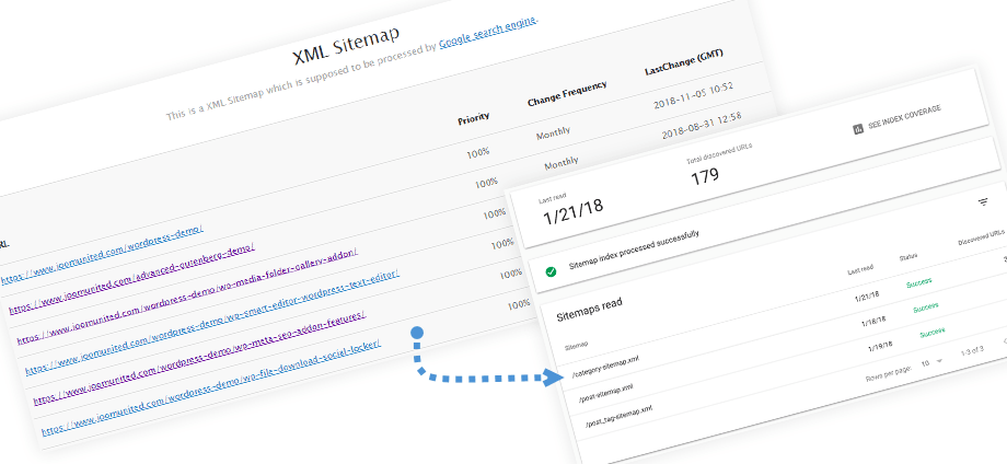 Sitemap automatic submission to Google Search Console