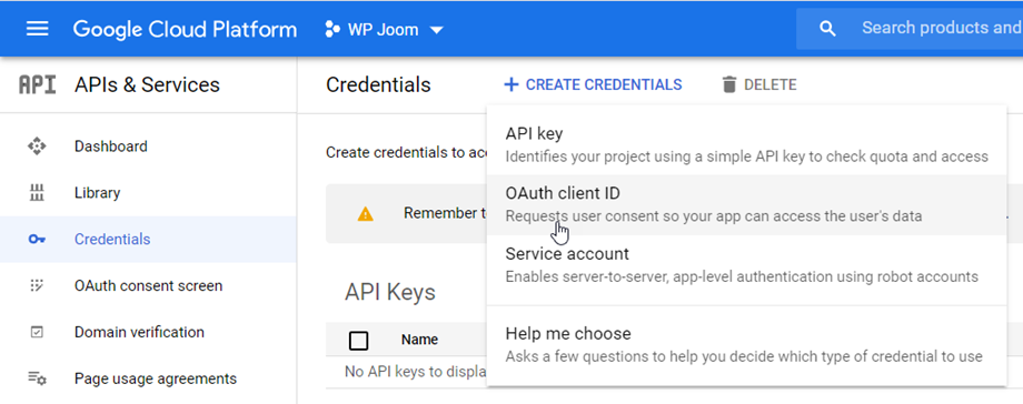 create-oauth-client