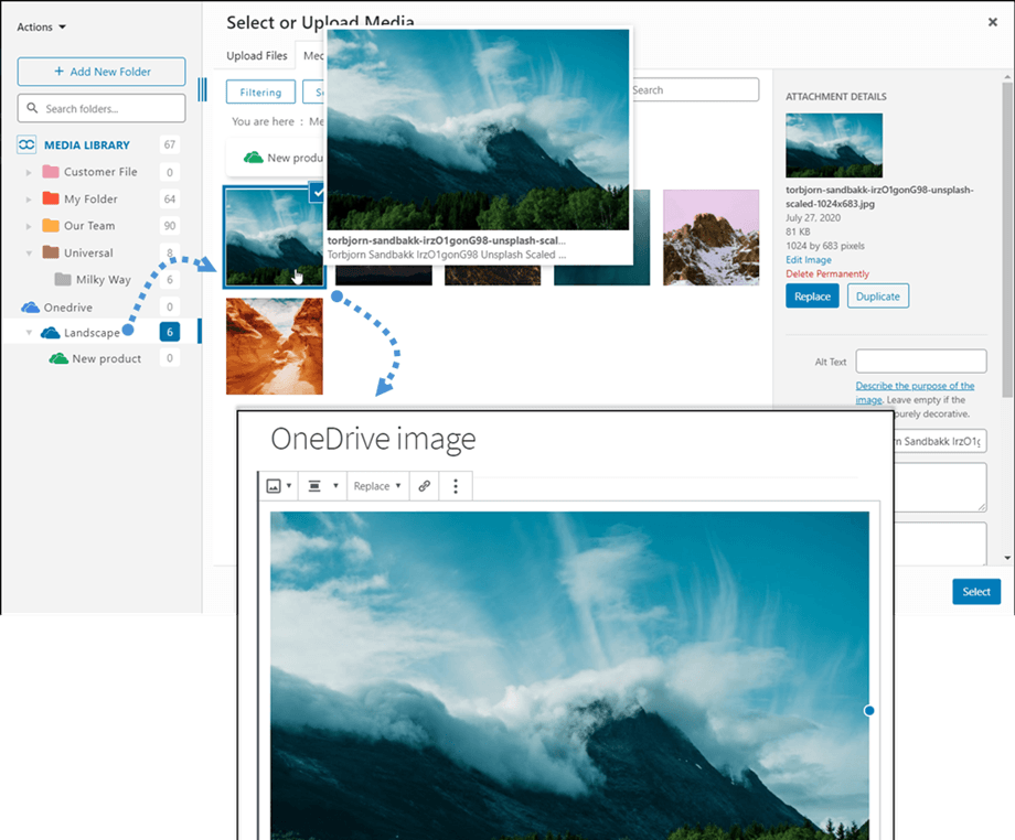embed-OneDrive-image