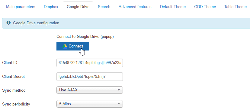 google-drive-credentials