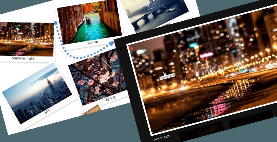 Polaroid-gallery-theme
