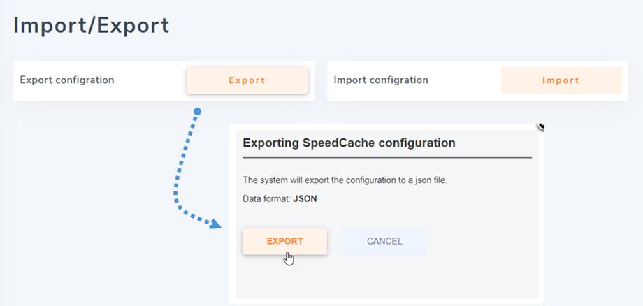 import-export-configuration