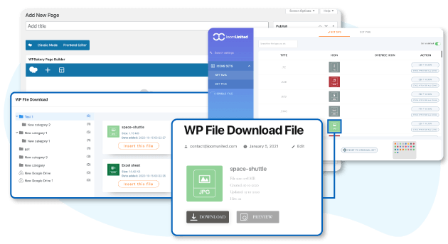 Create a custom design for your Download manager in WPBakery