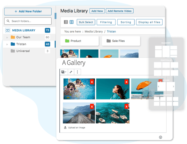 Create WordPress Galleries from Media Folder