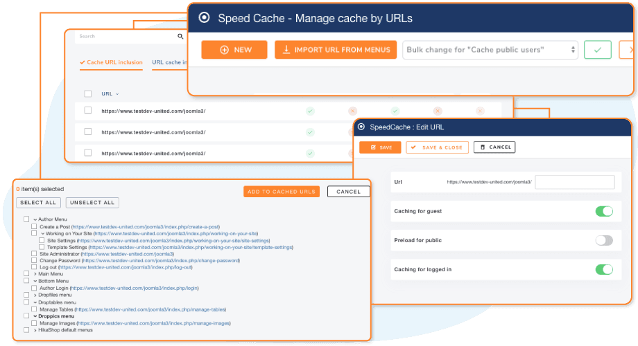 Speed Up with Targetted Cache System