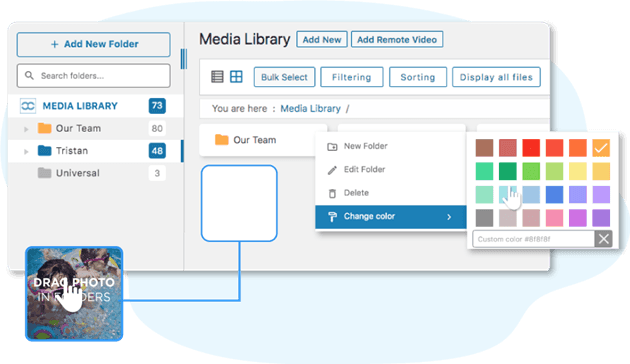 WordPress Media Library & Folders Made Easy