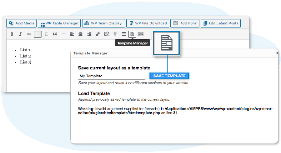 editor-template-manager